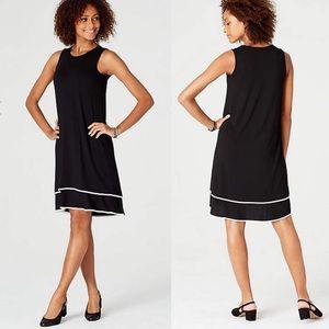 NWT J. Jill Layered Elliptical Dress